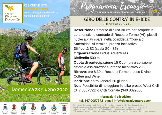 Giro delle Contrà in e-bike