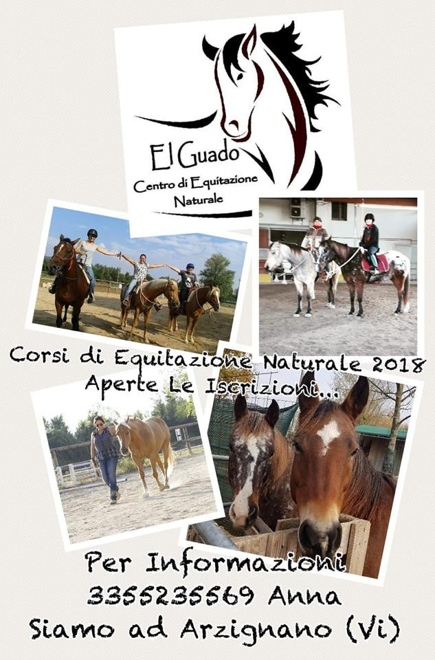 """Corsi di equitazione presso """"El Guado"""""""