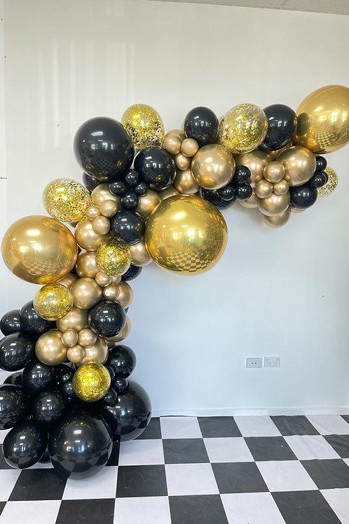 DIY Balloon garland pick up
