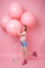 creative portrait of a young woman in a