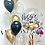Thumbnail: Clear bubble balloon personalised bouquet