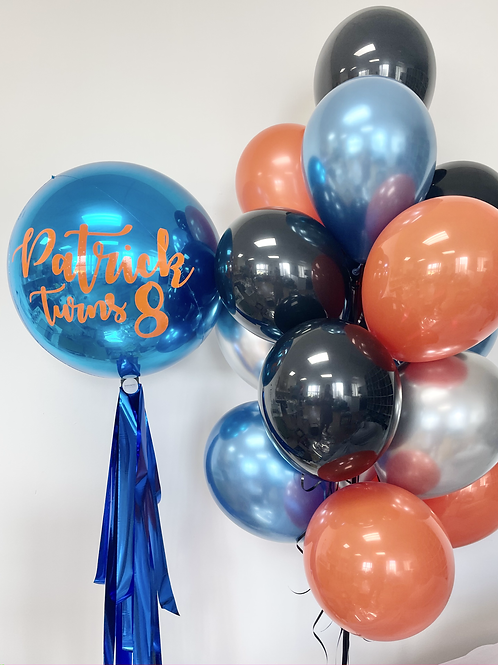 Personalised helium bundle