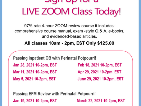 Ncc prep classes Sign up today!!