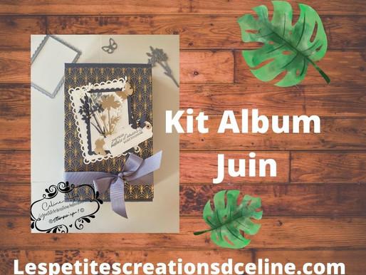Kit Mini Album Juin