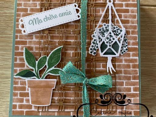 "Tuto Mini Album ""Plantes Epanouies"" LIVE FB #24"