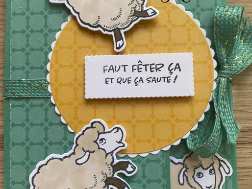 "Mini-album carte ""Saute-Mouton"""