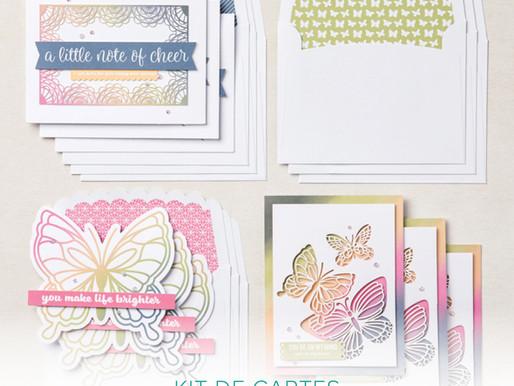 Kit cartes Notes Amicales