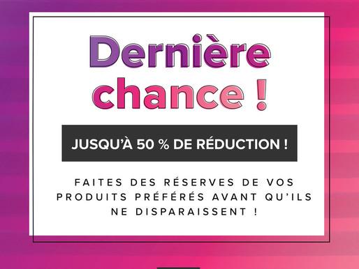 Fin de série Du catalogue Janvier - Juin