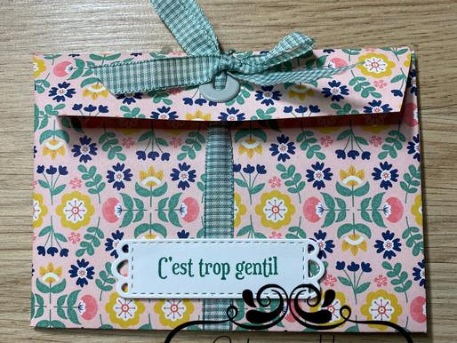"""Mini Album enveloppe """"Jolie Symétrie"""""""