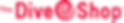 PNG The Dive Shop Logo (horizontal  lett