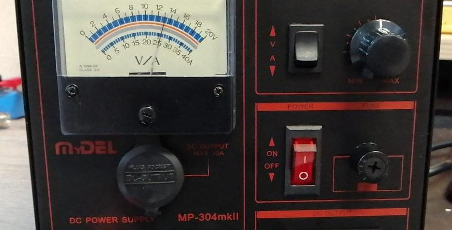 MYDEL MP-304mkII- new model Black (Alimentatore a trasformatore 30A)