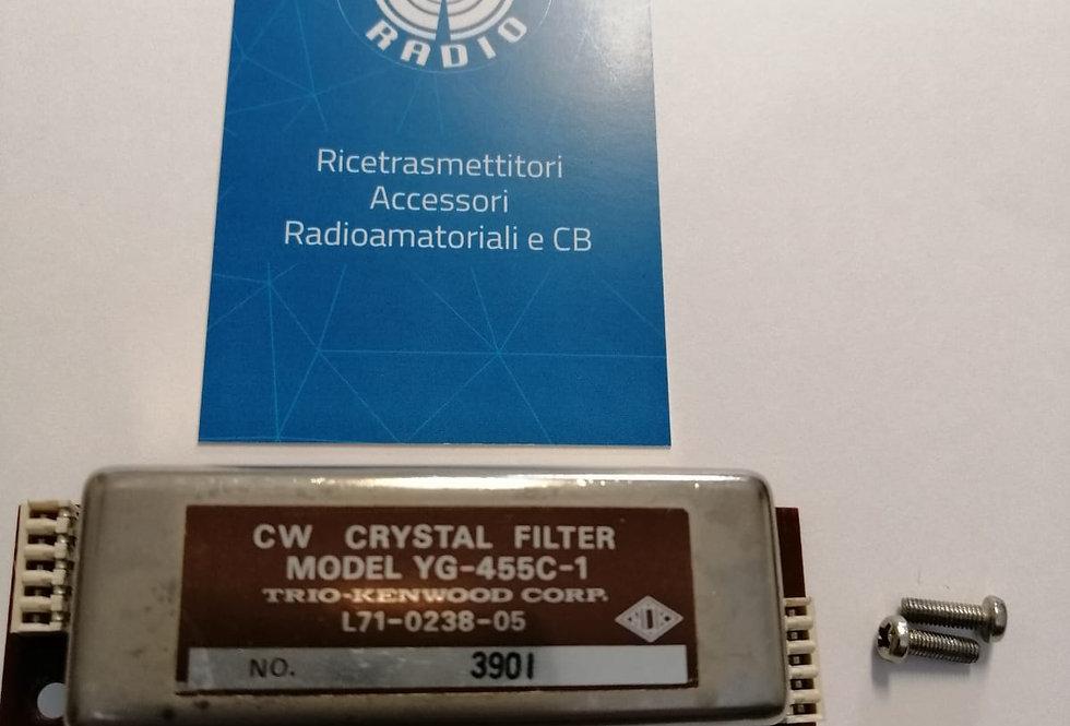 KENWOOD YG-455C-1 - CW CRYSTAL FILTER