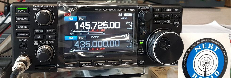 ICOM IC 9700 VHF/UHF/SHF  all mode+ DSTAR - NUOVO