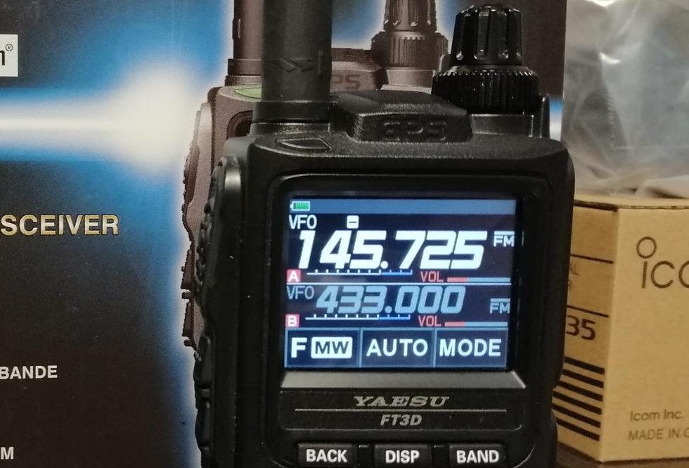 YAESU FT 3D - RTX VHF/UHF - FM/C4FM digital + GPS