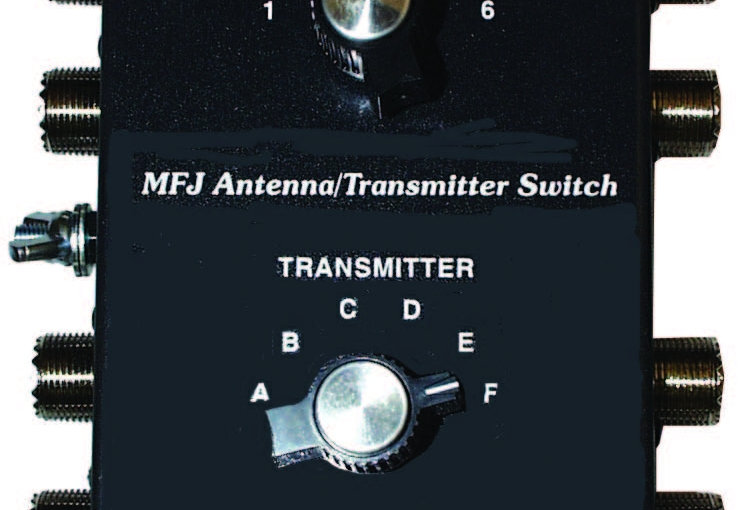 MFJ-1700C - COMMUTATORE 6 ANT. / 6 RADIO