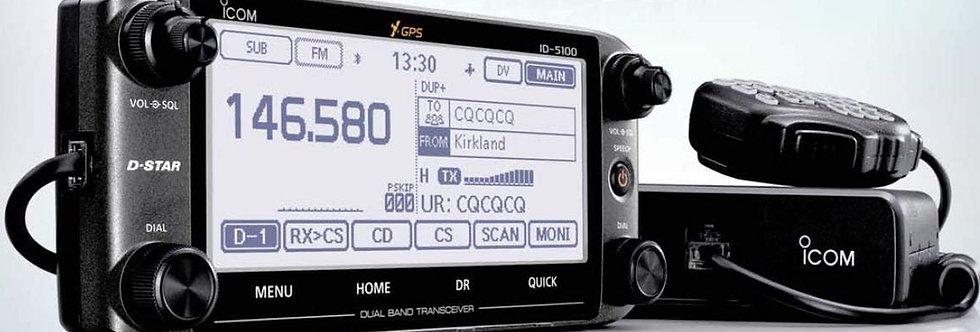 ICOM ID 5100 (VHF/UHF BIBANDA analogico/digitale - DSTAR)
