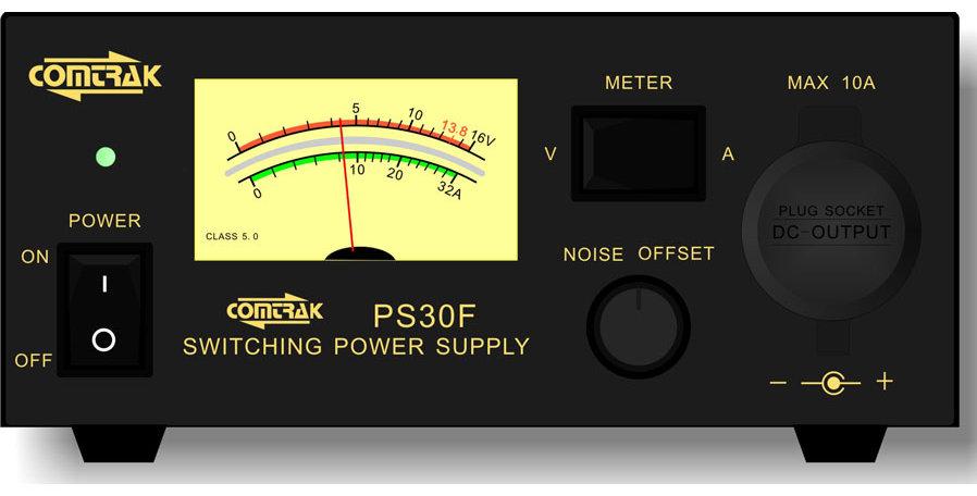 COMTRAK  PS30 - ALIMENTATORE 30A - 13.8V