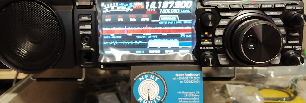 YAESU FTDX 10 - RTX HF/50/70MHz SDR-ibrido con display touch-screen