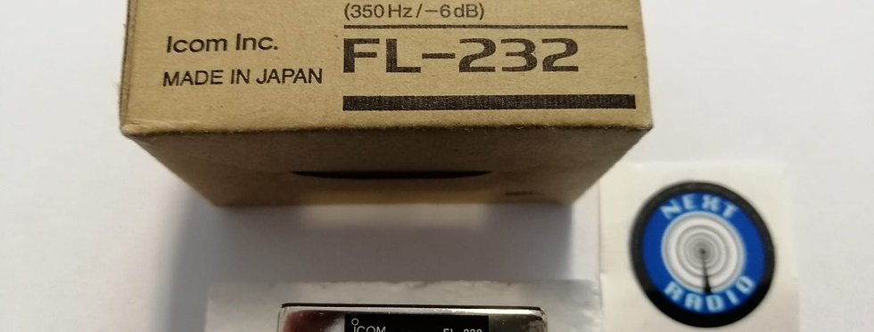 ICOM FL-232 CW NARROW FILTER