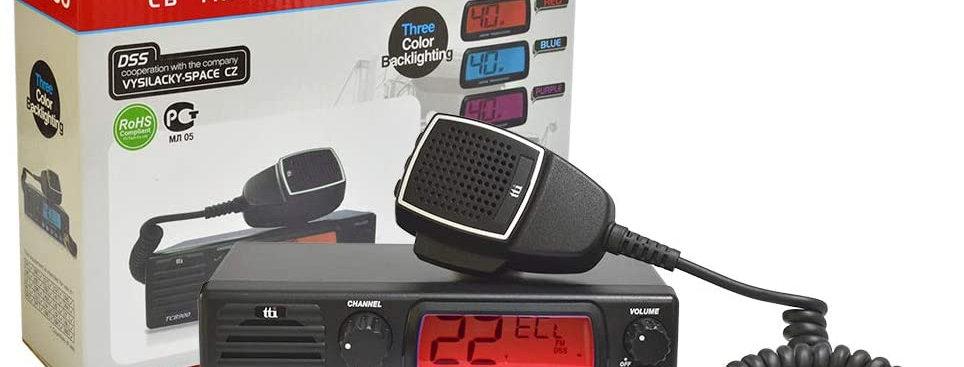 TTI-TCB-900 - CB Omologato - con Altoparlante Anteriore, AM-FM