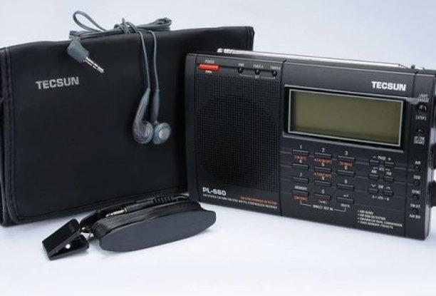 TECSUN TECSUN PL-660 BLACK-RICEVITORE PORTATILE ALL MODE 1,7-30 MHz+ VHF