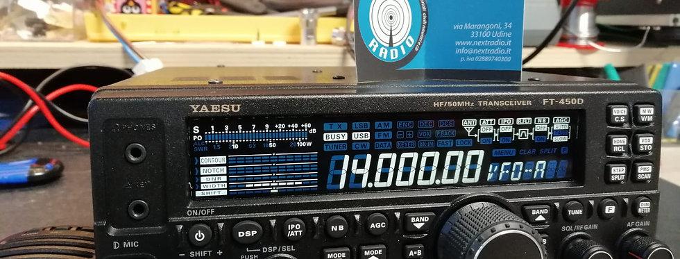 YAESU FT 450D - RTX HF/50MHZ con accordatore