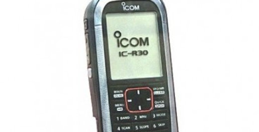 ICOM ICR-30 RICEVITORE LARGA BANDA D-STAR/NXDN/DPMR/APCO P25/SSB/CW/AM/