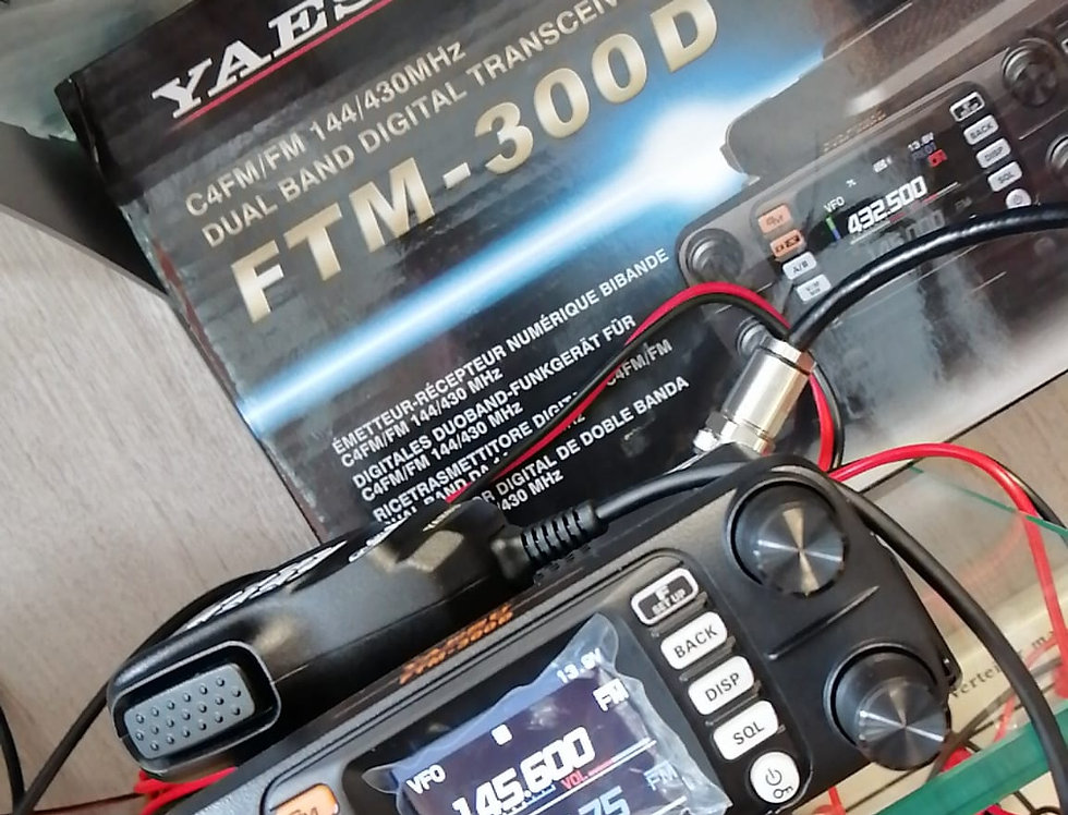 YAESU FTM 300 DE - RTX VHF/UHF FM/C4FM digital