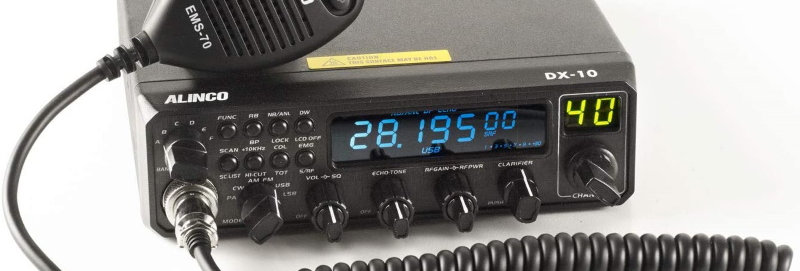ALINCO DX-10 (Rtx 25-30MHZ am/fm/ssb-25w)