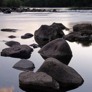 River rocks in the Ardeche