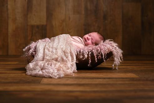 Newborn baby studio portrait Norfolk