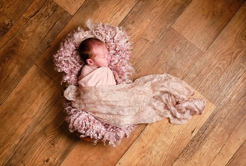 Newborn studio portrait Norfolk