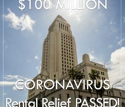 LA City Council Passes $100 Million Renter's Relief Program