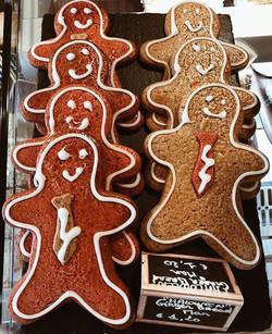 Ginger Man Bread 💫 #gingerbread #food #
