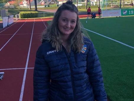 Lina praktiserade i Åland United