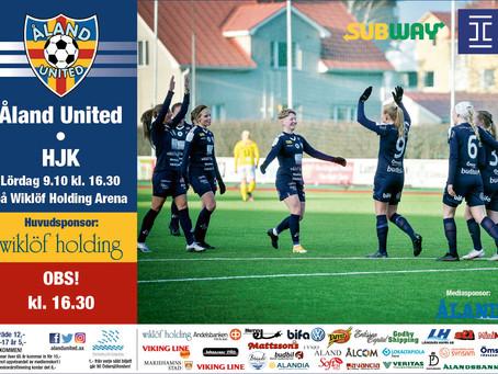 Nationella Ligan avslutas mot HJK på lördag