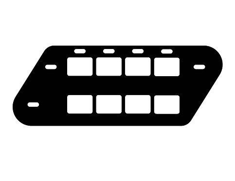 TACTICAL PANEL SB-2.04s for HD ULTRA HARD SADDLEBAGS