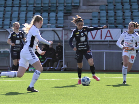 Förlust i Hagalund. Åland United till serieuppehållet som trea.