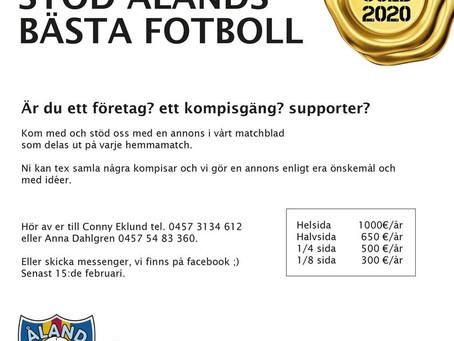 Stöd Åland United