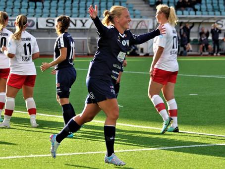 Anna Westerlund spelar med Åland United 2022