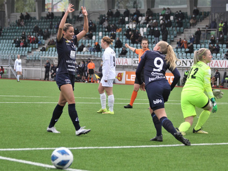 5-0 och hattrick på Wiklöf Holding Arena