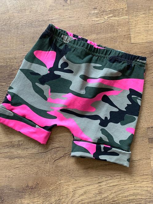 Pink Camo Shorts