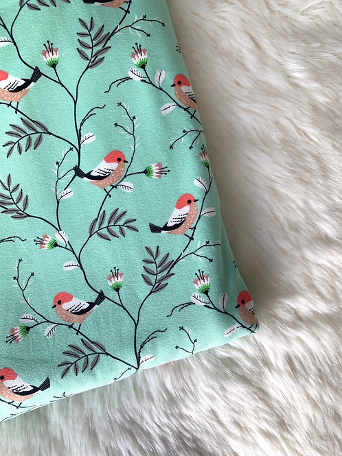 Mint Bird Romper