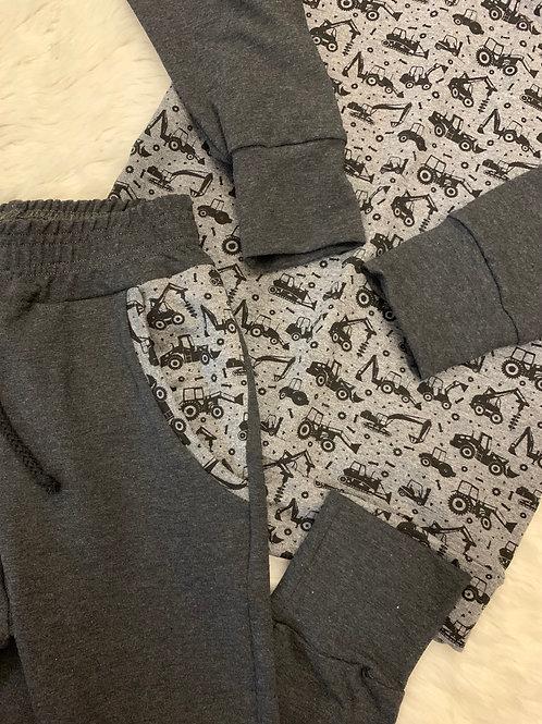 Construction Leggings - Thicker fabric