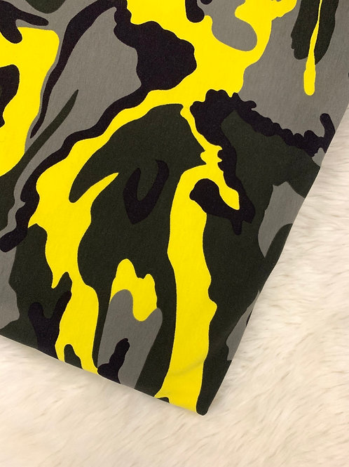 Yellow Camo Leggings