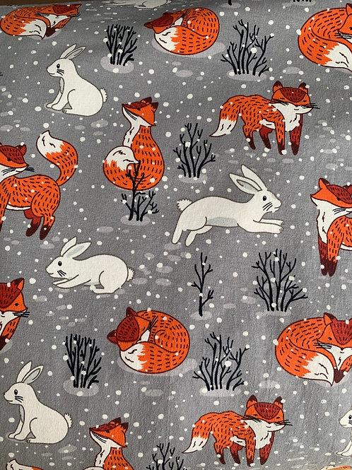 Winter fox skirt