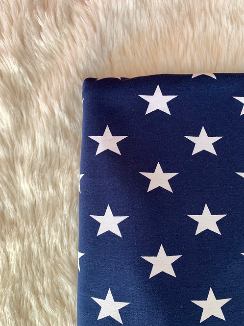 Navy Star Skirt