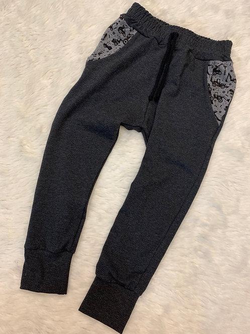 Grey Joggers/Digger pockets
