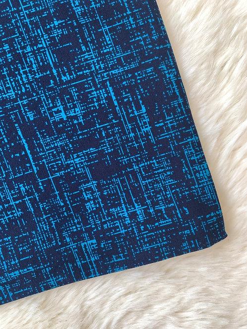Blue Matrix Shorts