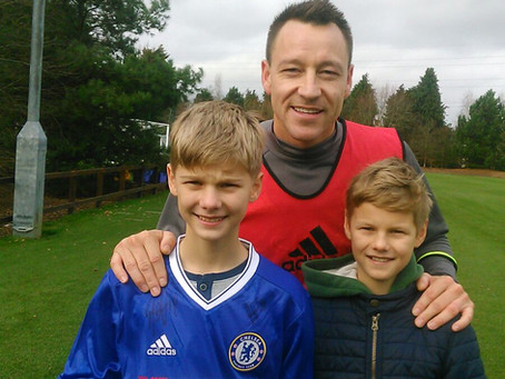 Lockdown Archives: Look who is with John Terry from Chelsea FC